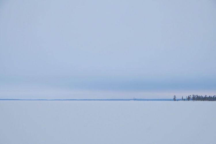 Magical Finland Finland Finlandia FinlandsWinter Lake Inari Lake View Landscape Landscape_photography Minimalism Minimal Minimallandscape Wintertime Winter Lapland Magic Moments Traveling Travel Photography Tranquility