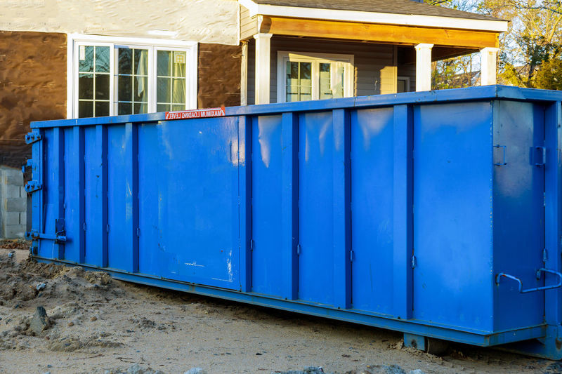 Trash dumpsters