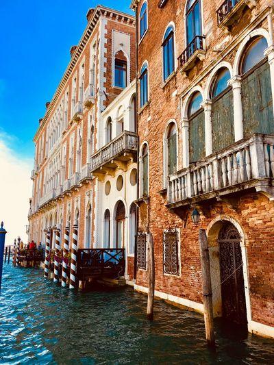 Bella Venezia Palace Gran Canal Building Exterior Architecture Built Structure Building Window City Day History Tourism Travel
