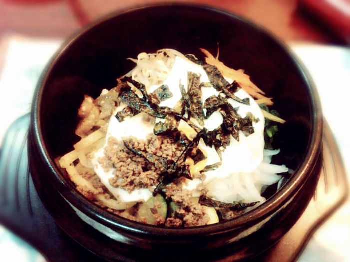 nice meal Bibimbap Dolsot Food Korean Food