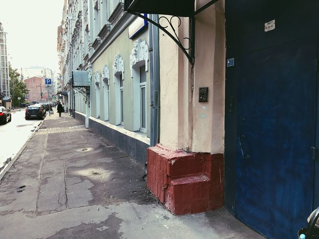 Moscow center. All day no people Built Structure Architecture Building Exterior Door The Way Forward House Day No People Outdoors City The Architect - 2017 EyeEm Awards