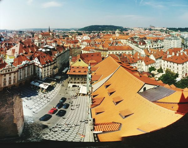 From The Rooftop Rooftop View  Eyemphotography Rooftop Scenery Praguedowntown EyeEm In Prague Prague Visiting Prague