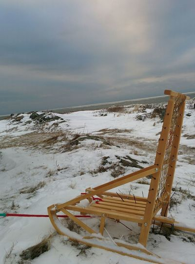 Mypointofview Winter Loneliness No People Lonely Water Snow Cold Temperature Beach Sea Sky Horizon Over Water