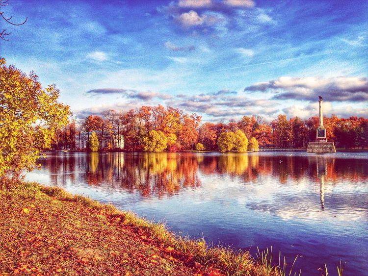Recalling the last autumn Landscape Amazing View Skyporn HDR