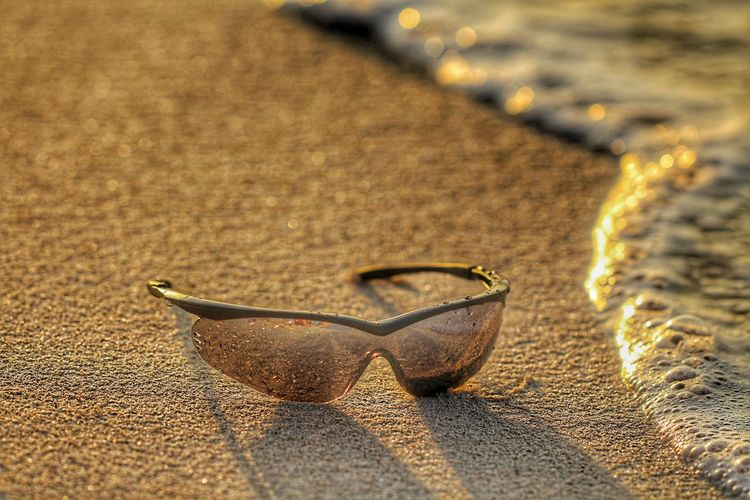 Beach Sand Selective Focus No People Close-up Day Outdoors Comercial Sunrise Gold Colored Textured  Waves Textured  Foam Sunglasses Surf Caribean Texture Water