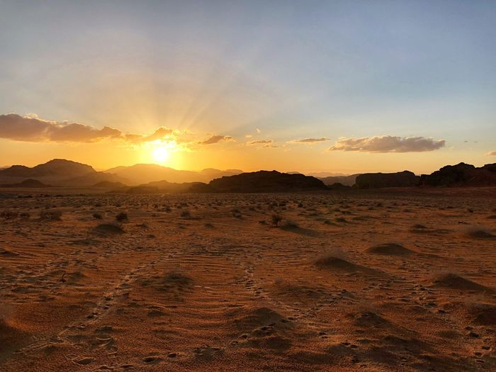 Sunset in Wadi