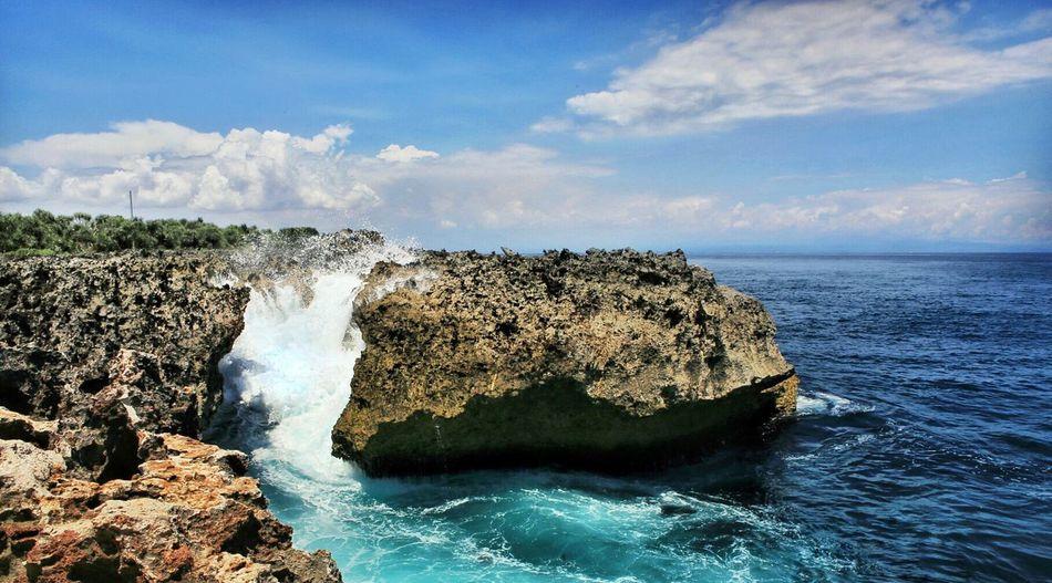Waterblow, Nusa Dua Bali, Indonesia Bali, Indonesia Exploreindonesia Scenery Waves Crashing On Rocksks Waves, Ocean, Nature Waves And Rocks Waves Crashing Wavegodphotography Exploretocreate Explorebali
