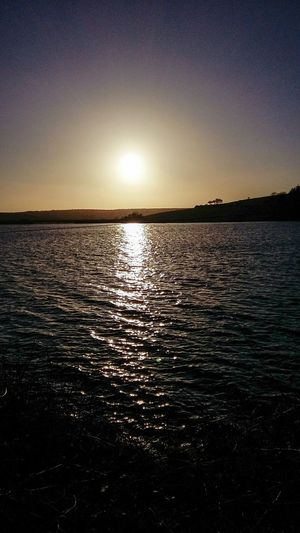 Sunset at Sibleyback Lake Cornwall Lake View Water Sun Sunset Beautiful Day Sky Light And Shadow