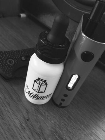 Themilkman Milk Vape VapeLife Knife Cloud Clouds And Sky Clouds Cleaning Clean Chilling Vaporizing