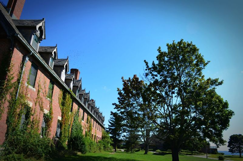 Abandoned & Derelict Abandoned Buildings Architecture Built Structure Clear Sky No People
