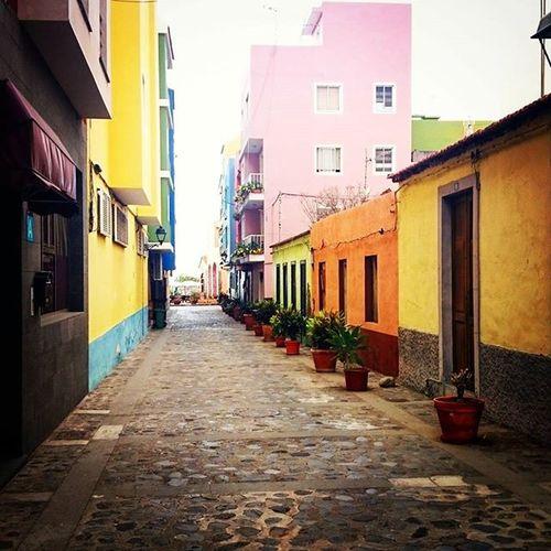 Elpuerto Canarias Village LaPalma Laislabonita LaPalma Villagephotography Streetphotography Street Streetphoto