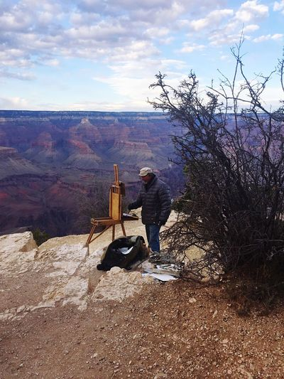 Grand Canyon, Painting, A Look into my Eyes
