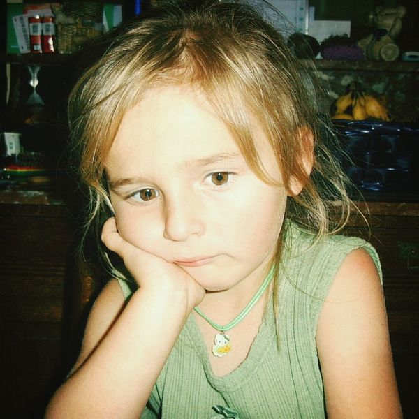 Gianna, my daughter. Not happy. ? Portrait Check This Out Taking Photos