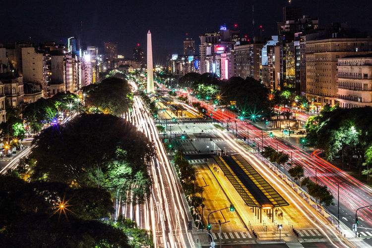 The 9 of July avenue from above Buenos Aires EyeEm Best Shots EyeEm Selects EyeEm Gallery EyeEmNewHere Mobility In Mega Cities Architecture Buenosaires Building Exterior Built Structure City City Life High Angle View High Street Illuminated Light Trail Long Exposure Motion Night Road Speed Street Street Light Transportation Urban Scene The Street Photographer - 2018 EyeEm Awards HUAWEI Photo Award: After Dark