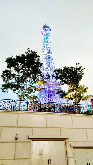 A Miniature of Eiffel in Macao Macao  Parisian Leisure Travel China Casino Hotel Trip ASIA Holiday Vacation Gamble Landmark Night Amusement Park Ride Traveling Carnival Oktoberfest Carnival - Celebration Event Amusement Park Ferris Wheel Carousel Horses Merry-go-round Chain Swing Ride Carousel Rollercoaster Ride Bauble Coney Island Fountain Flowing Water