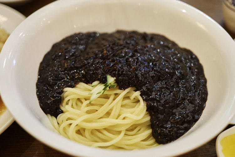 Jjajangmyeon Korean Food Noodles A6000 Close-up Food Foodporn Ready-to-eat Zeiss32mmf18