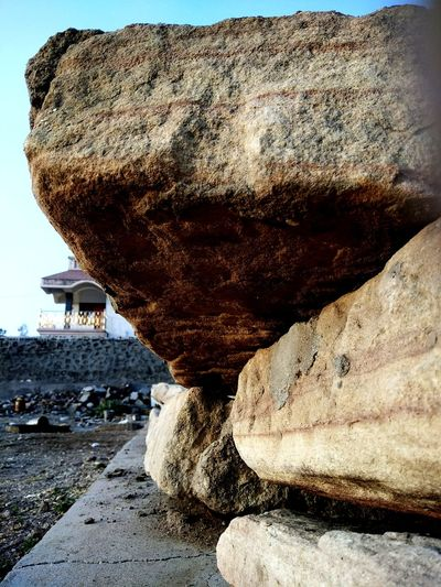 Beach Sand Rock - Object Rock Formation Nature No People Day Outdoors Sea Beauty In Nature Close-up Animal Themes Sky