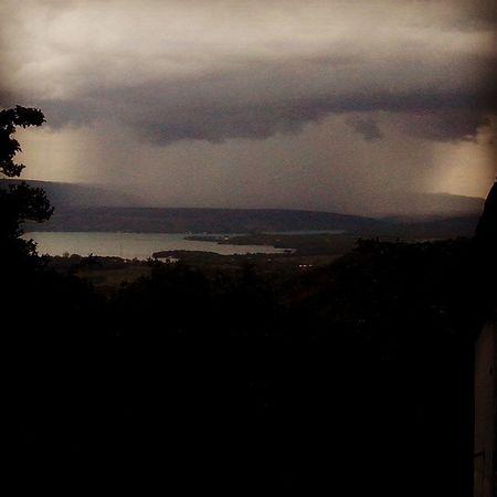 Chuva em Rifaina, vista de Alto Porã. Clouds Rifaina Nature Rain River Montain