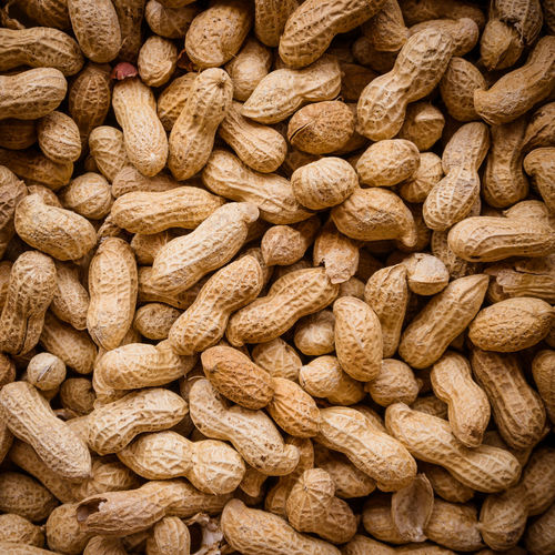 Abundance Backgrounds Brown Close-up Day Dieting Dried Food Dried Fruit Food Food And Drink Freshness Full Frame Healthy Eating Heap Indoors  Large Group Of Objects No People Nut - Food Nutshell Peanut - Food Supermarket