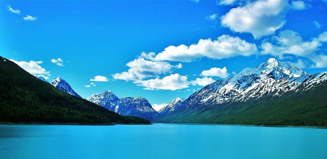 Lake Eklutna,