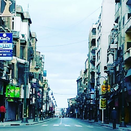 Alexandria Egypt City Outdoors No People City Street Street First Eyeem Photo