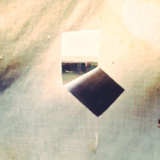 Peep Hole Window Shade Taking Photos Grunge