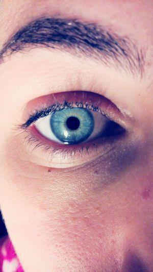 My Eye Blue Green Iloveit♡