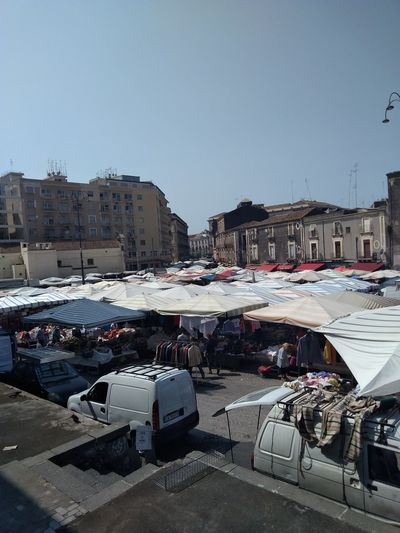 Catania Market Market Stall Marketplace Car Outdoors Outdoor City Day No People Architecture Sky From My Point Of View. People Of EyeEm EyeEm Nature Lover EyeEm Best Shots EyeEm Selects EyeEm EyeEmNewHere The Week On EyeEm Real People Architecture