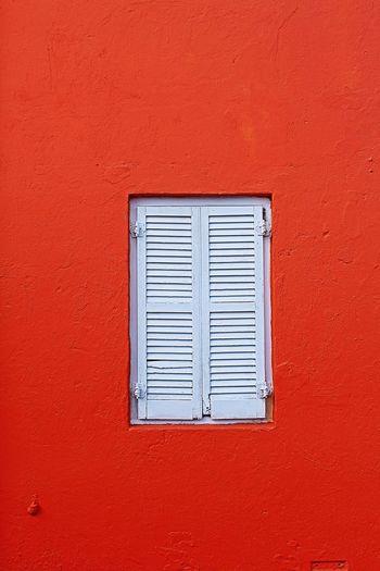 Orange Dreamz Orange Color Orange Orange Texture Orange Building Orange Dream Window Architecture White Color Built Structure No People Building Exterior Day Red Full Frame Outdoors Close-up