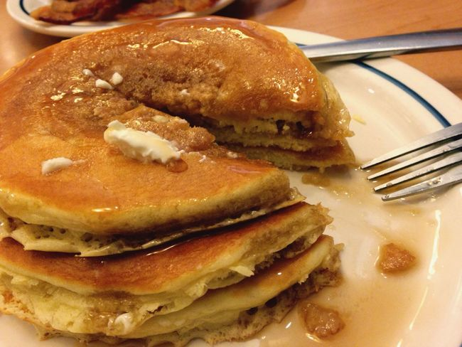 Yummy it's Pancakeday had the free stack offered at Ihop and yes it was very good. Share my absolute favorite food ever with each and every last one of you 🥞🥞🥞