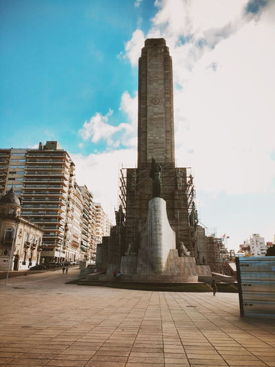 Ancient Civilization Architectural Column Architecture Building Exterior Built Structure City Cloud - Sky Day History Low Angle View No People Outdoors Sky Travel Destinations