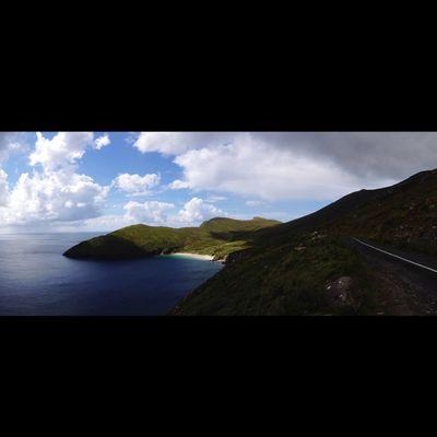 Ireland Irelandinspires Ireland🍀 WestCoast West Of Ireland Achill Island Achill Wild Atlantic Way Atlantic Atlantic Ocean Keem Keem Beach