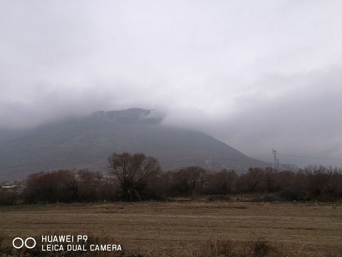 a Thunderstorm Mountain Cloud - Sky