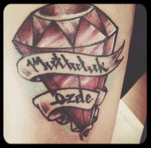 Tattoo My Tattoo Pink Cristal Smook