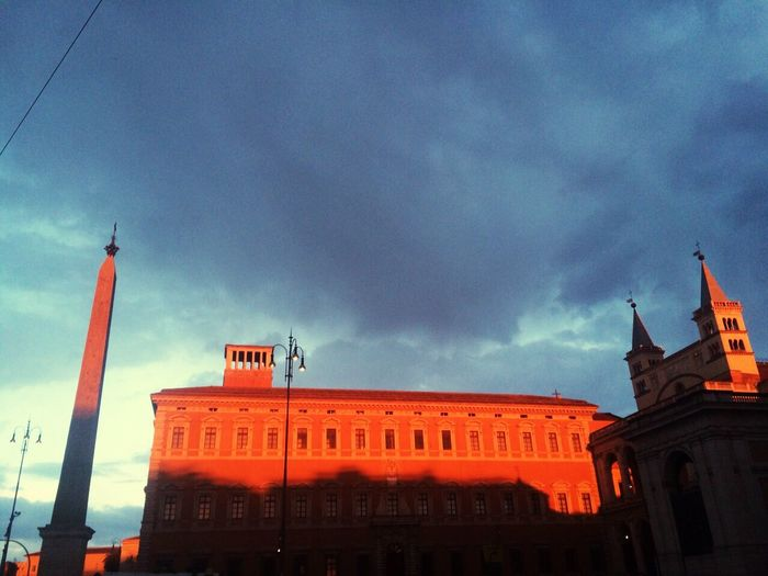 Eternity Roma Clouds And Sky Dreamy In The Evening Sunlight
