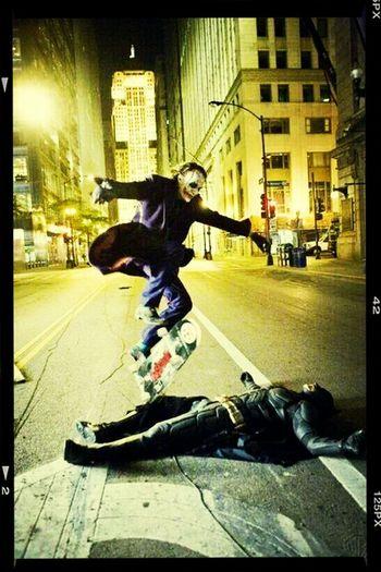 Joker Photomontage Remember Heath Ledger Skatelife Check This Out