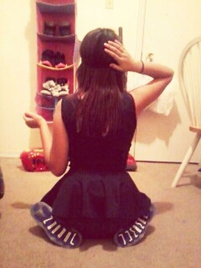 Throwback. Shoes over everything <3