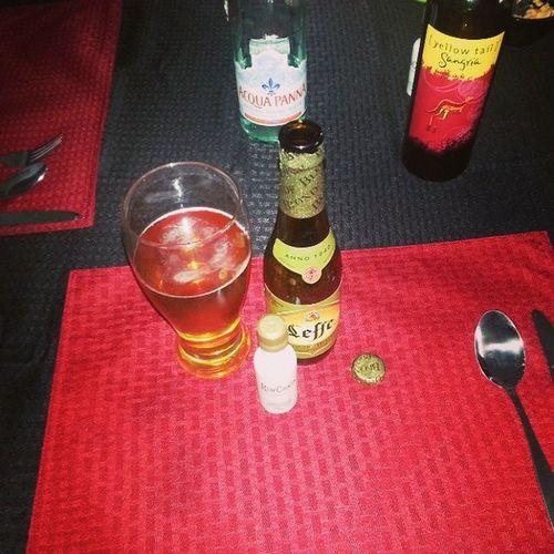 B) Beer