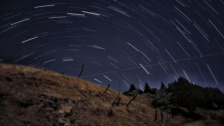 Startrail Star Trail Nightphotography Long Exposure Beauty In Nature Space Trail Nature_collection