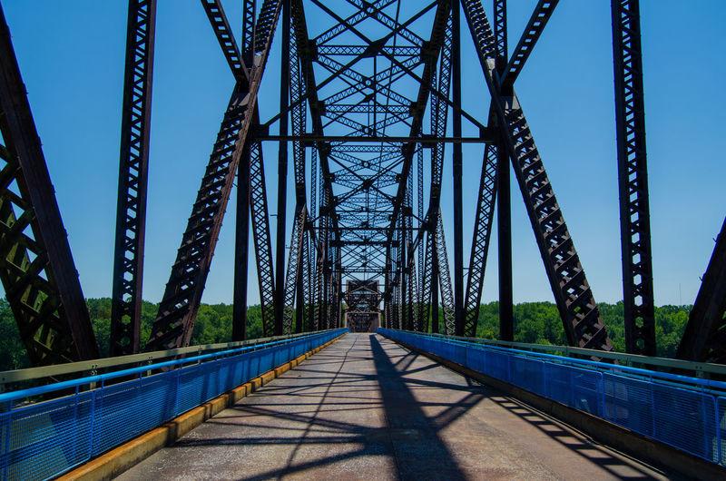 Historic bridge in route 66 us st louis