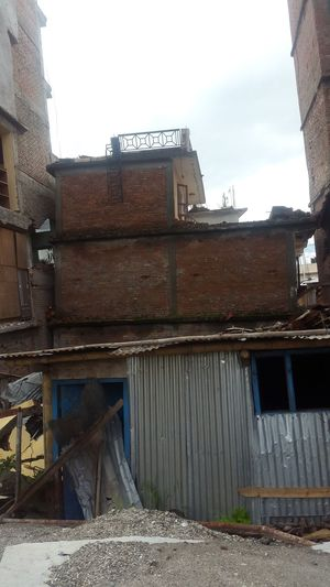 because of earthquake Abandoned Architecture Building Building Exterior Buildings Built Structure City Earthquake Earthquakeinnepal EarthquakeNepal Outdoors Residential Building Residential Structure