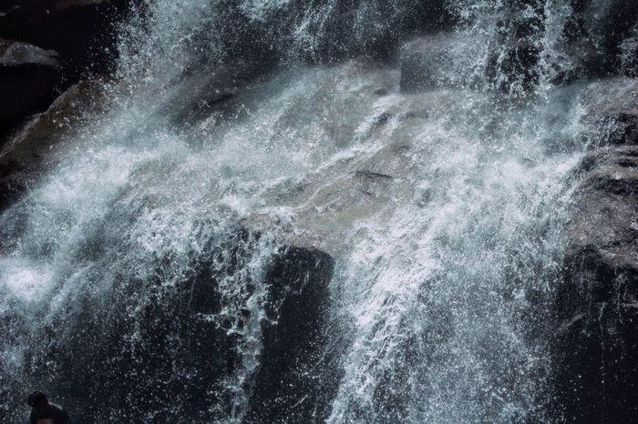 Backgrounds Nature Beauty In Nature Water Outdoors Water Splash Splashing Waterfall Wave EyeEmNewHere