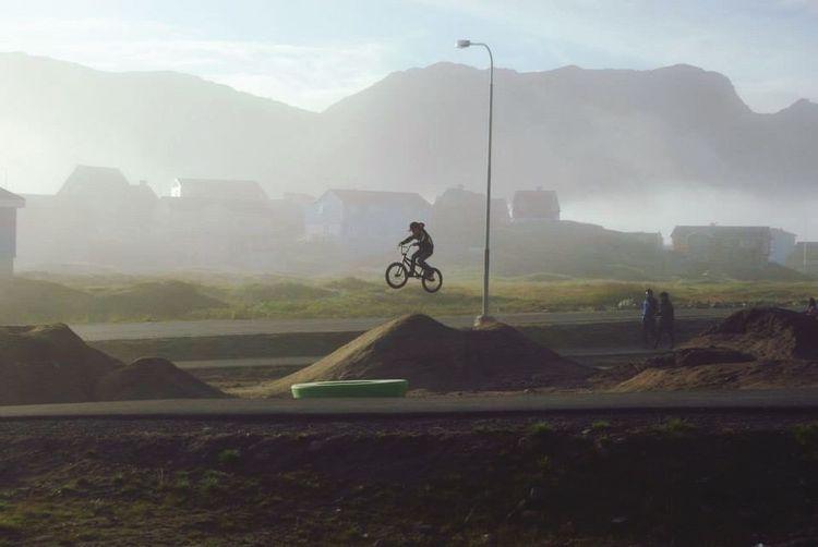 Hanging Out Cykling Enjoying Life Its A Beautiful Day Boys Will Be Boys Boy Wonderfuld Greenland