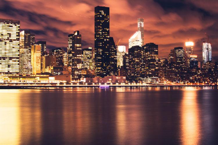 - I love my city New York NYC Gantryplazastatepark Taking Photos Travcimages Travcnyc EyeEm EyeEm Gallery Eye4photography  Popular Photos Photooftheday EyeEm Best Shots Cityscapes Nightphotography Night Lights Long Exposure