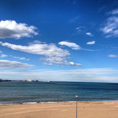 La mejor vista para acabar la semana Getxo Bizkaia Bilbao Negua