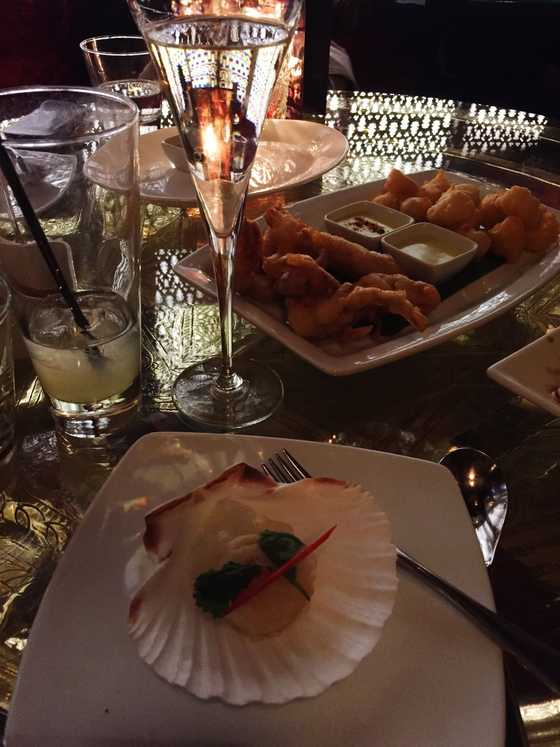 food and drink, illuminated, food, table, indoors, freshness, plate, candlelight, choice, indulgence, dinner, place setting, ready-to-eat, appetizer