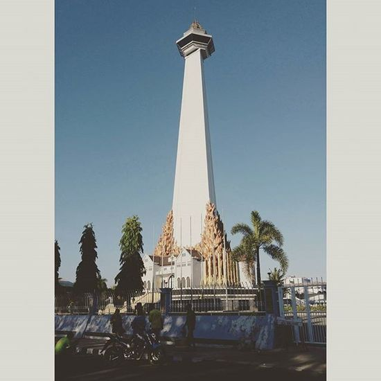 Photoproject365 365photochallenge Clovewebstudio August2015 Day 39 of 365 - The Mandala Monument - Monumen Mandala Makassar , was built in remembrance of Operation Trikora , a West Irian Liberarion mission back in 1962. Instamakassar Instaindonesia INDONESIA