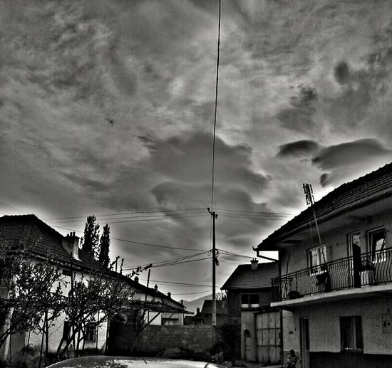 Storm Cloud Day Architecture Cloud - Sky Sky Outdoors Building Exterior House No People Built Structure Low Angle View