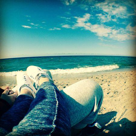 Enjoying The Sun Sea Birthday Love Eye4photography  Poland Beautiful Weekend 🌅🍻😎💋