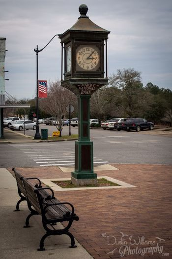 Old Time Clock Downtown